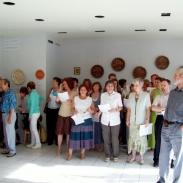 2010.06.10. Kiállításmegnyitó (Cseh Gabriella)